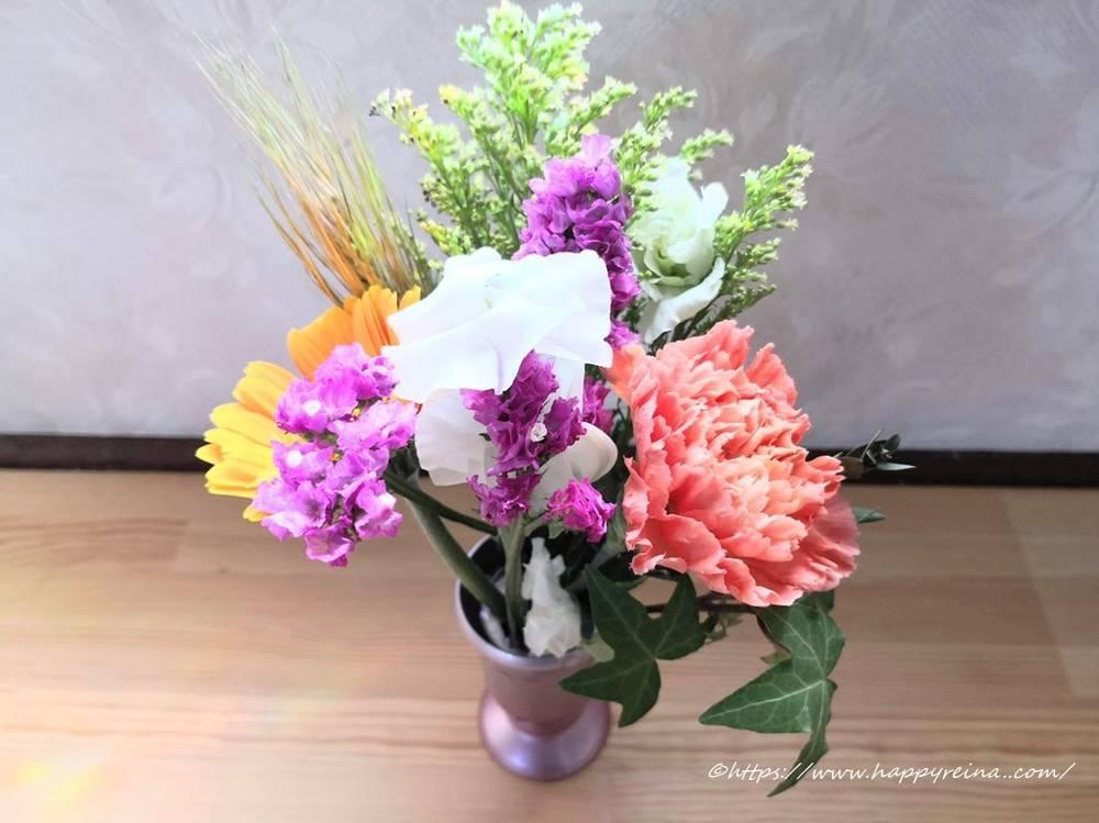 ブルーミーライフボリュームたっぷりのお花