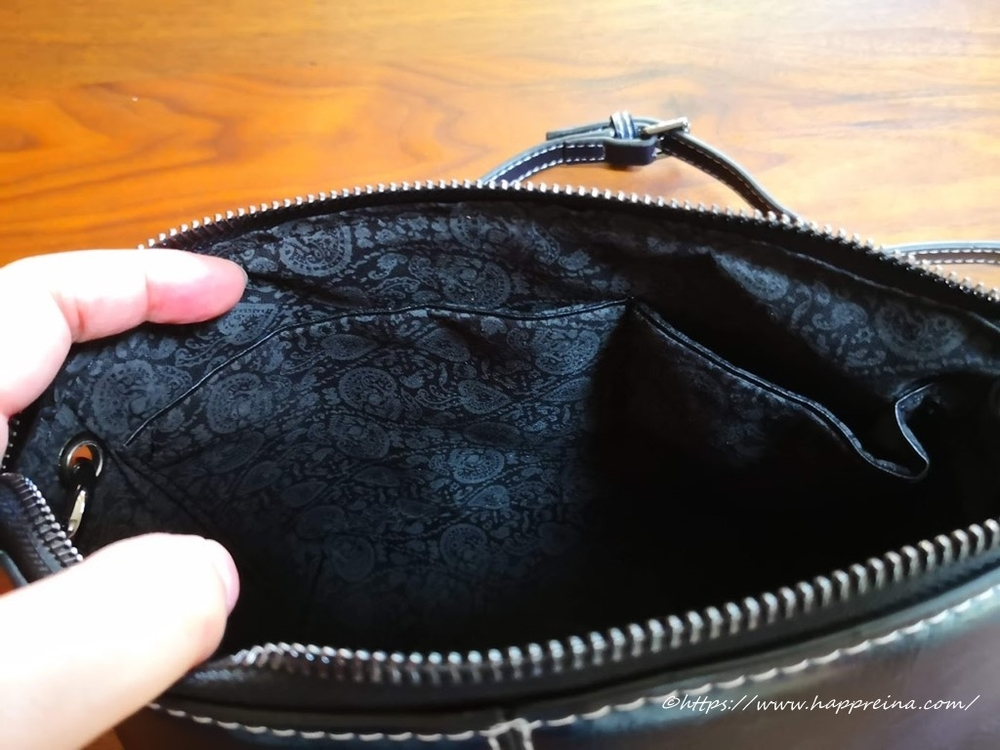 Baginningのバッグのポケット