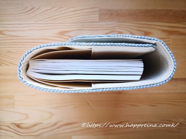 ほぼ日手帳5年日記を横から撮影した写真です