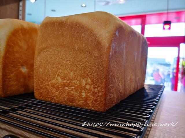 くちびるが止まらない食パンの写真です