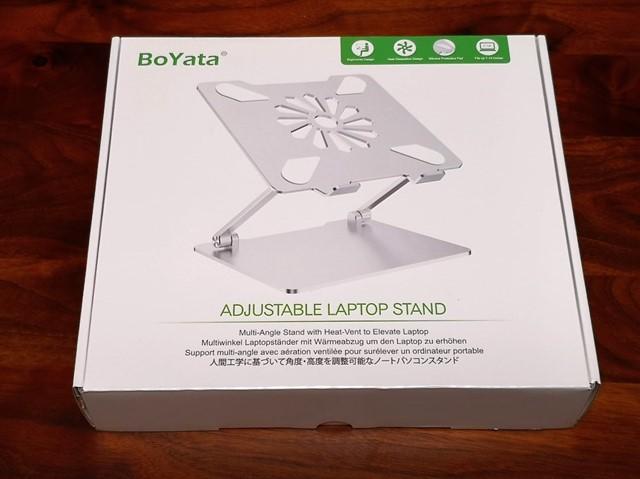 Boyataノートパソコンスタンドのレビュー