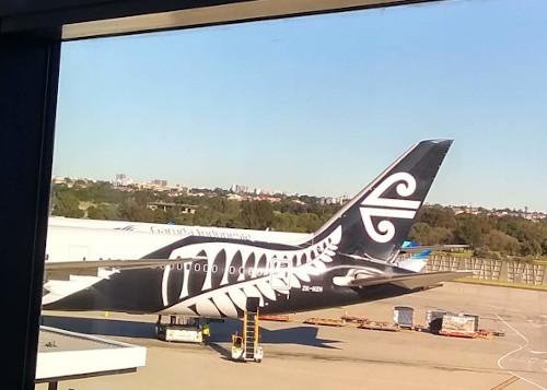 ニュージーランド航空777
