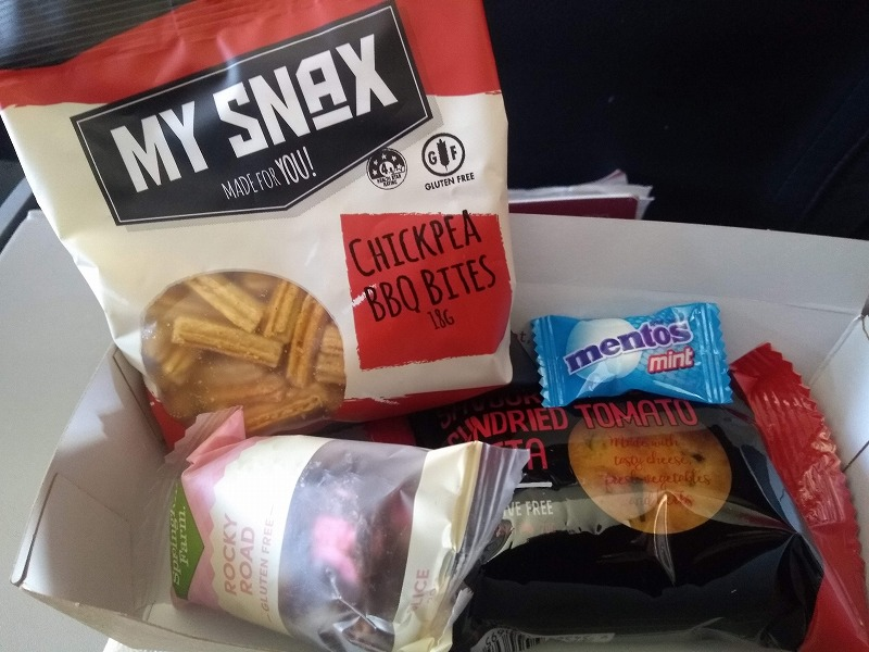 バージンオーストラリア航空食事