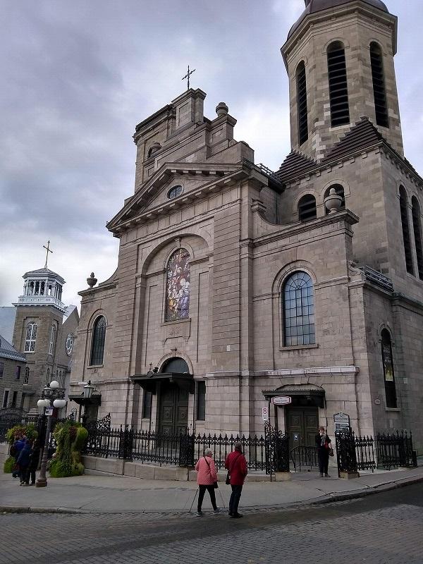 ケベック シティ:ノートルダム聖堂