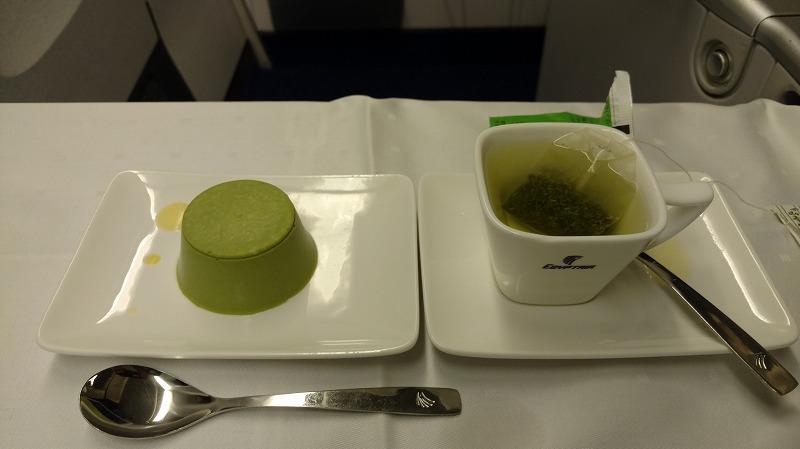 エジプト航空ビジネスクラス食事