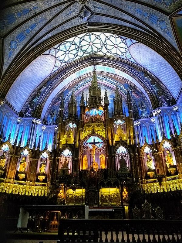 モントリオール:ノートルダム大聖堂