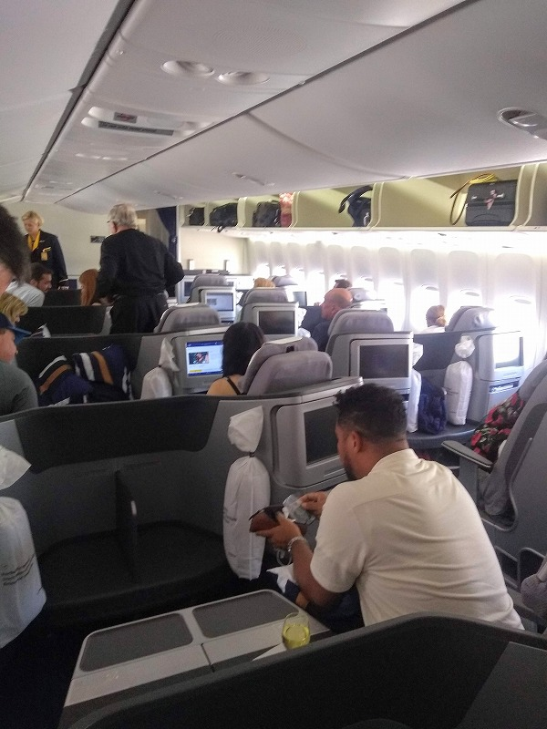 ルフトハンザ航空ビジネスクラス