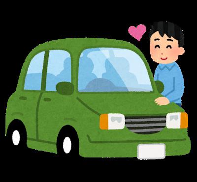 車を愛している男性