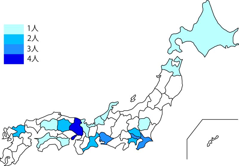 日本地図の色分け Fire And Motion