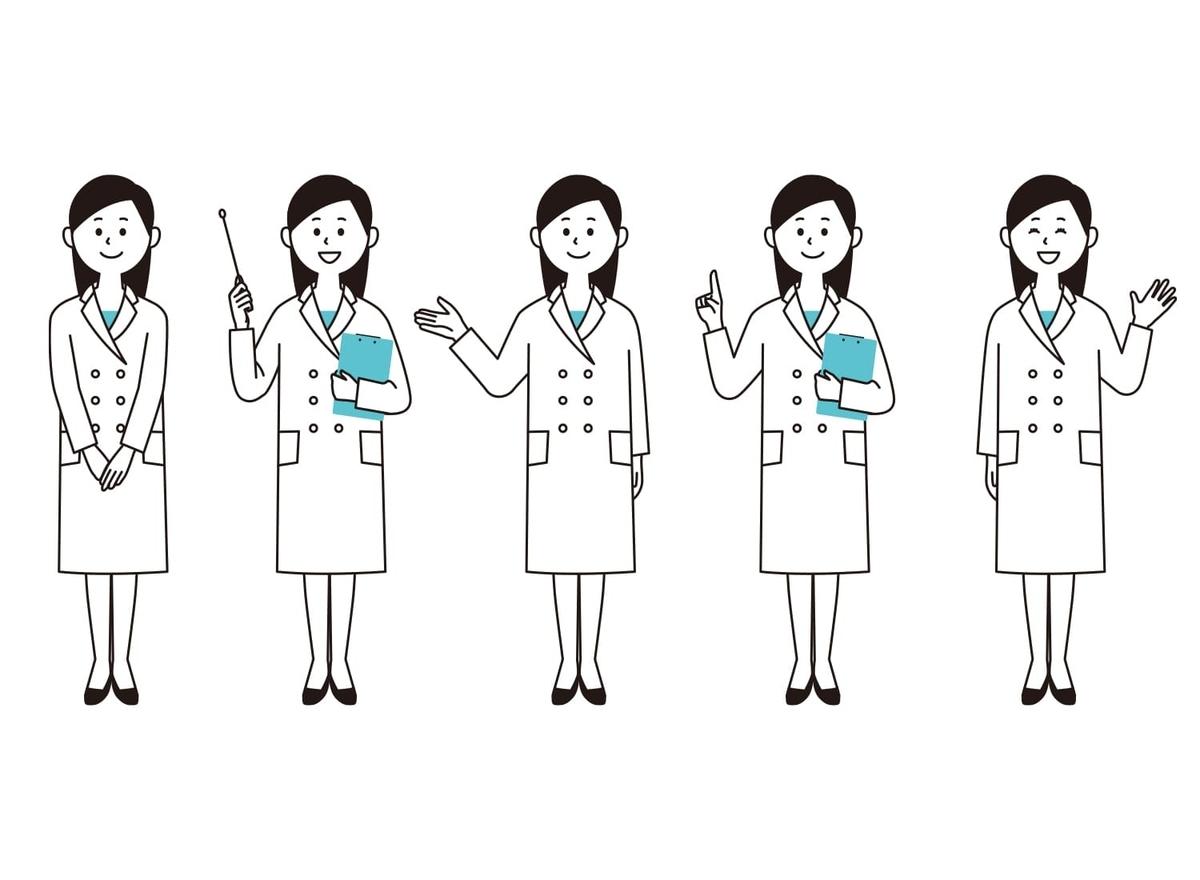 女性検査員の画像