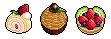 [ケーキ][ドット絵][イラスト]ケーキ