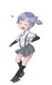 [艦隊これくしょん][艦これ][イラスト]大潮帽子&装備無ver by2014.1/17