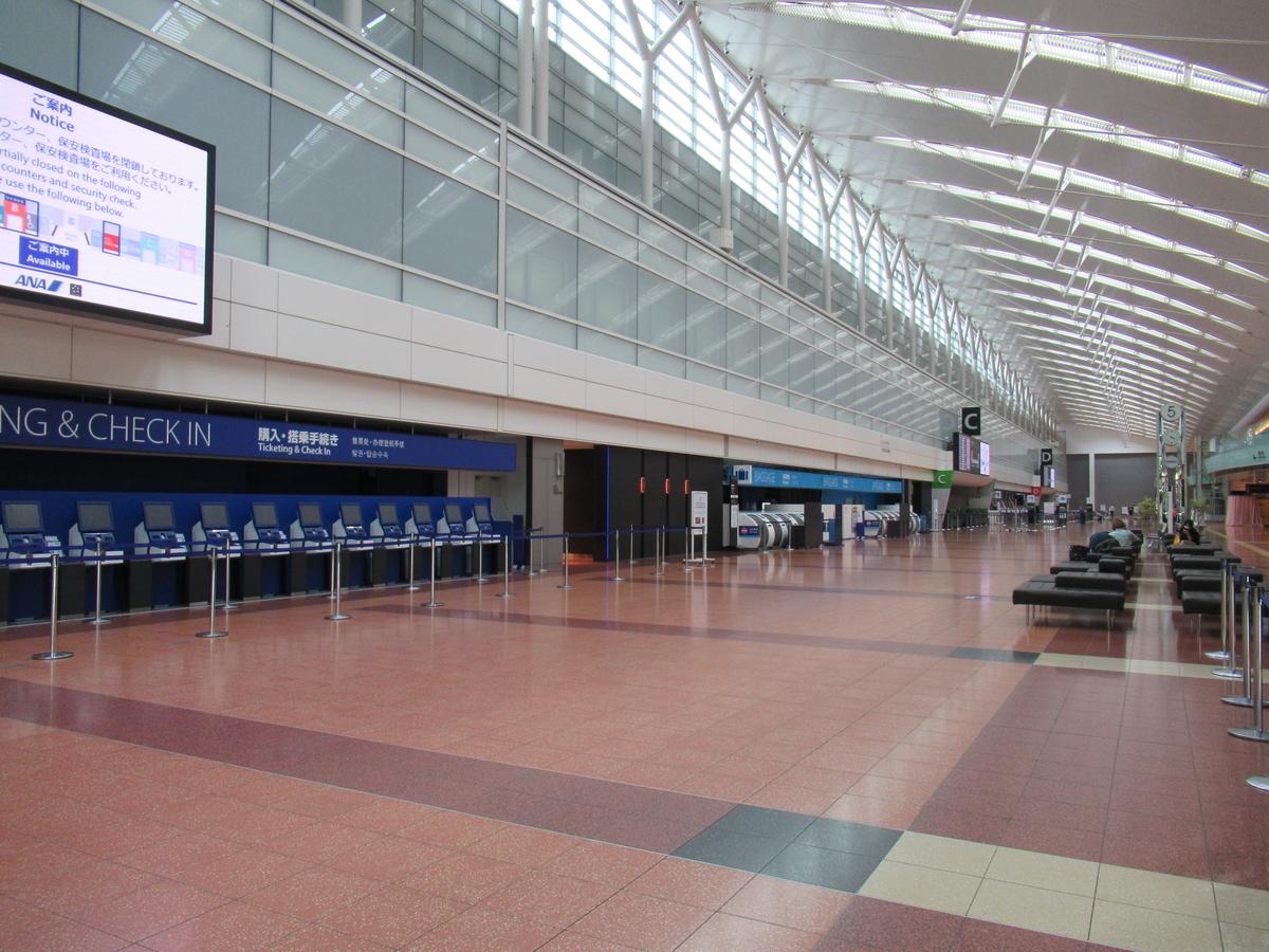 羽田空港第2ターミナル出発階南側区画