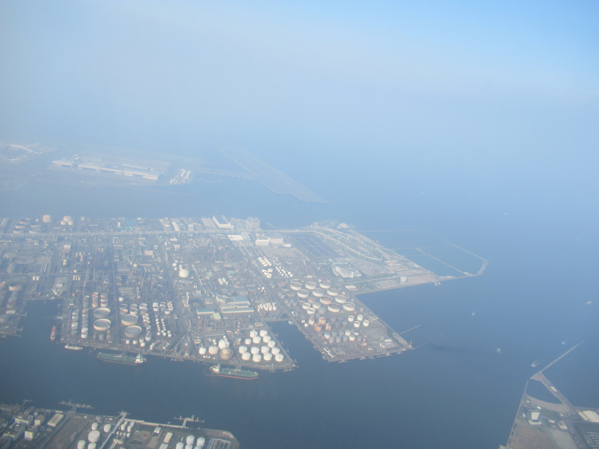 川崎の工業地帯