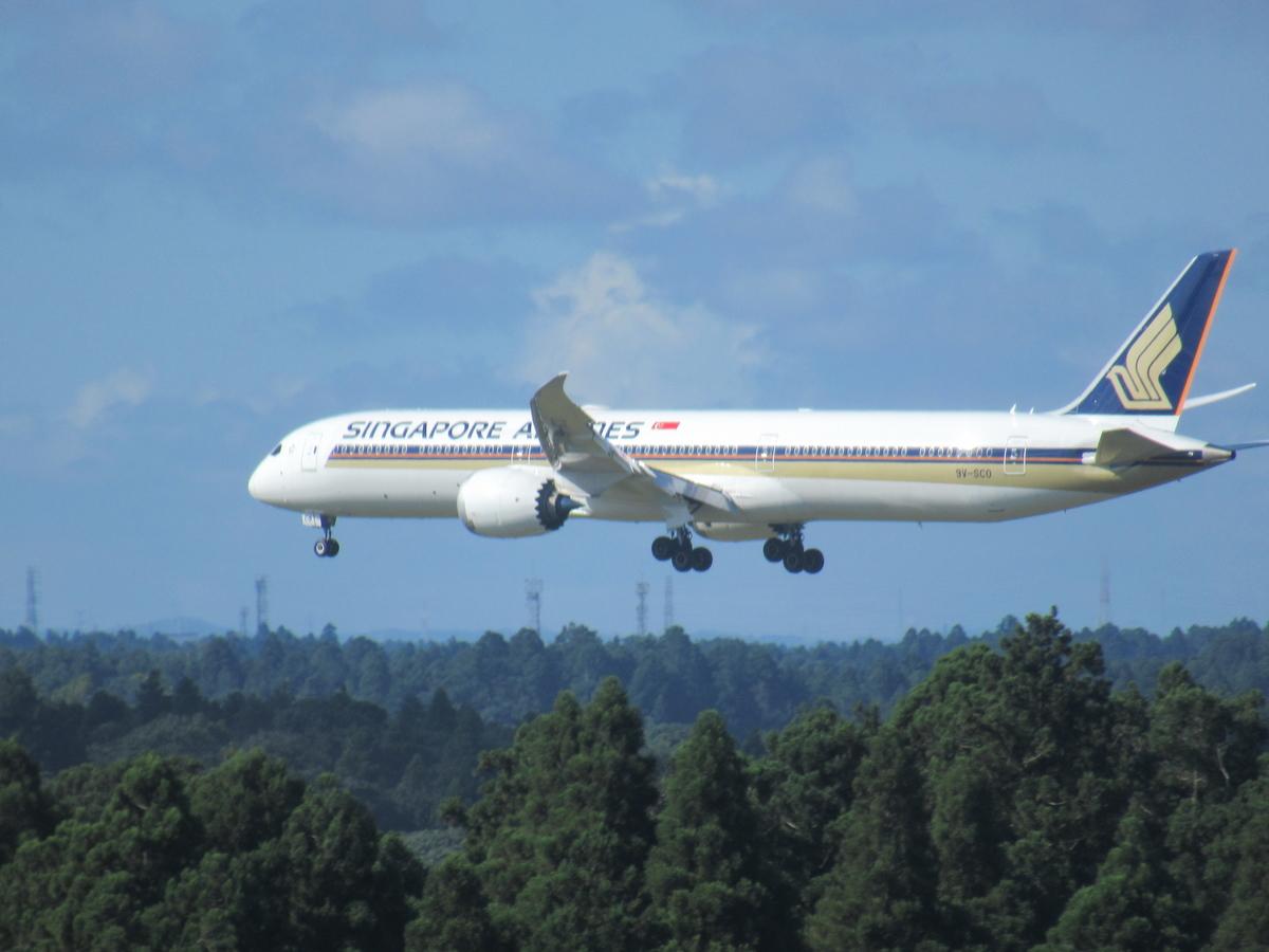 シンガポール航空機