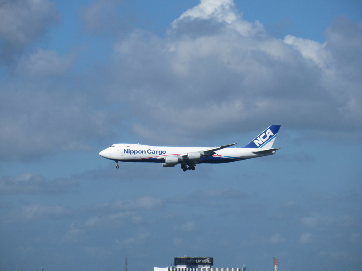 日本貨物航空機