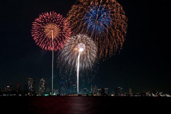 【2019年最新】別府火の海祭り☆花火打ち上げ場所や屋台を地元の私が紹介!