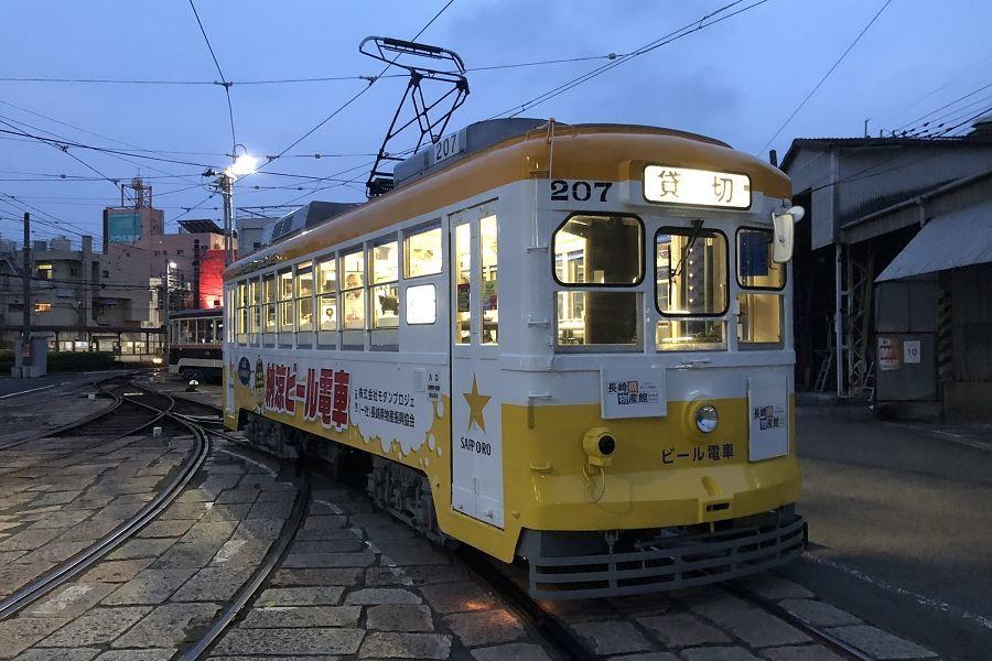 長崎 納涼ビール電車