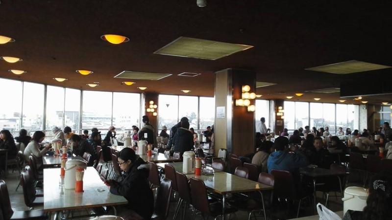 花巻・マルカンデパート・大食堂