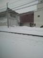 砂川駅・雪