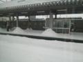 岩見沢駅・雪