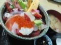仙台・中央卸売市場・海鮮丼