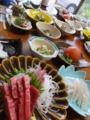 佐井・民宿みやの・夕食