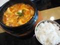 矢巾・YAHABAR・チゲ鍋定食