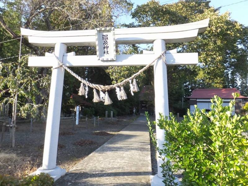 一関・温泉神社