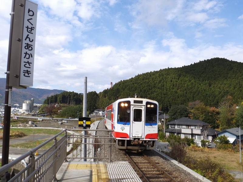 大船渡・三陸鉄道・陸前赤崎駅