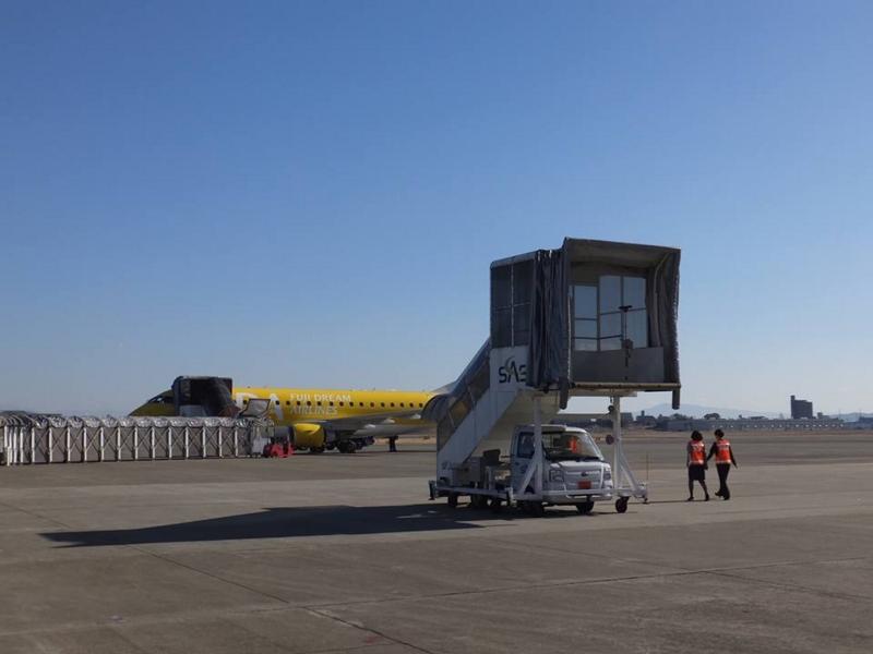 県営名古屋空港・乗り継ぎ