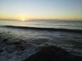 岩内・日本海の日没