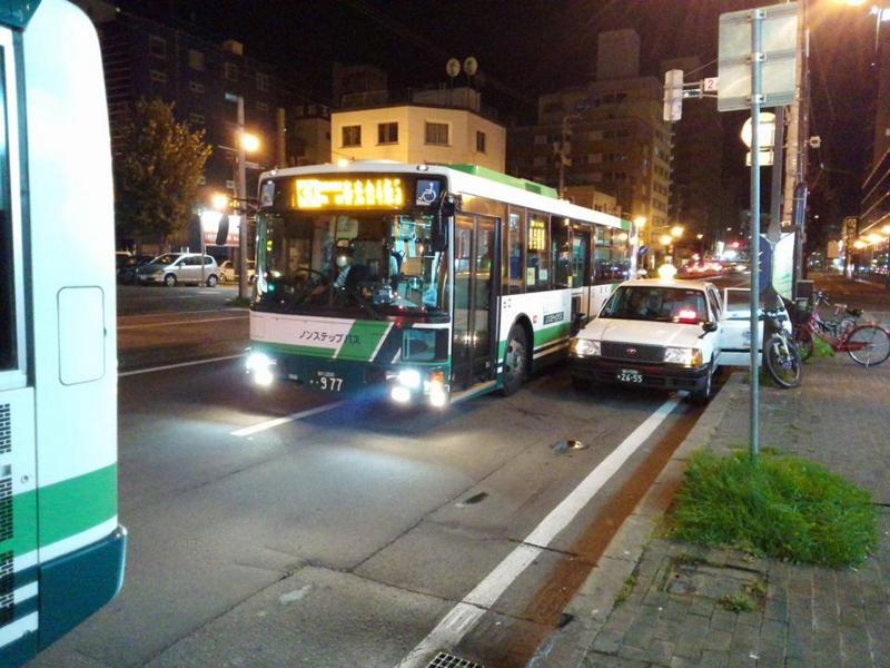 旭川・深夜バス