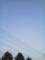 170415ヒコーキ雲・旭川・春光
