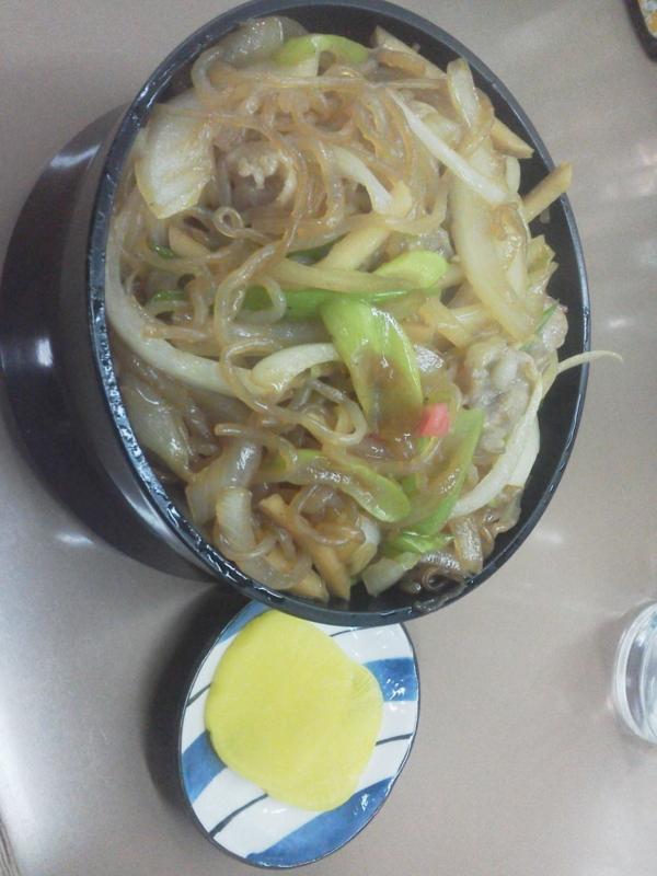 170414旭川・駅前ビル・すきやき丼