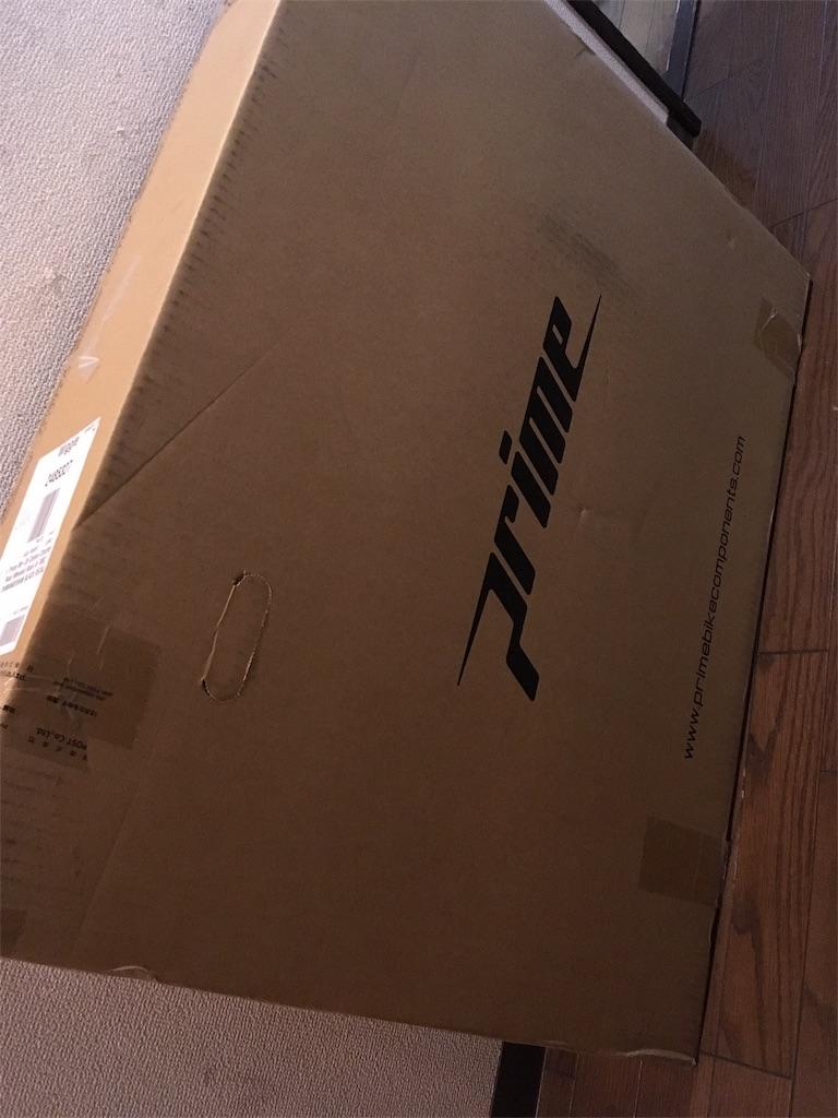 Primeホイールの箱