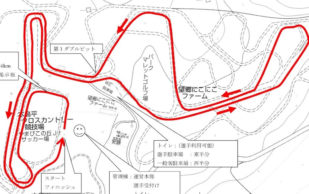 2Days木島平コース図