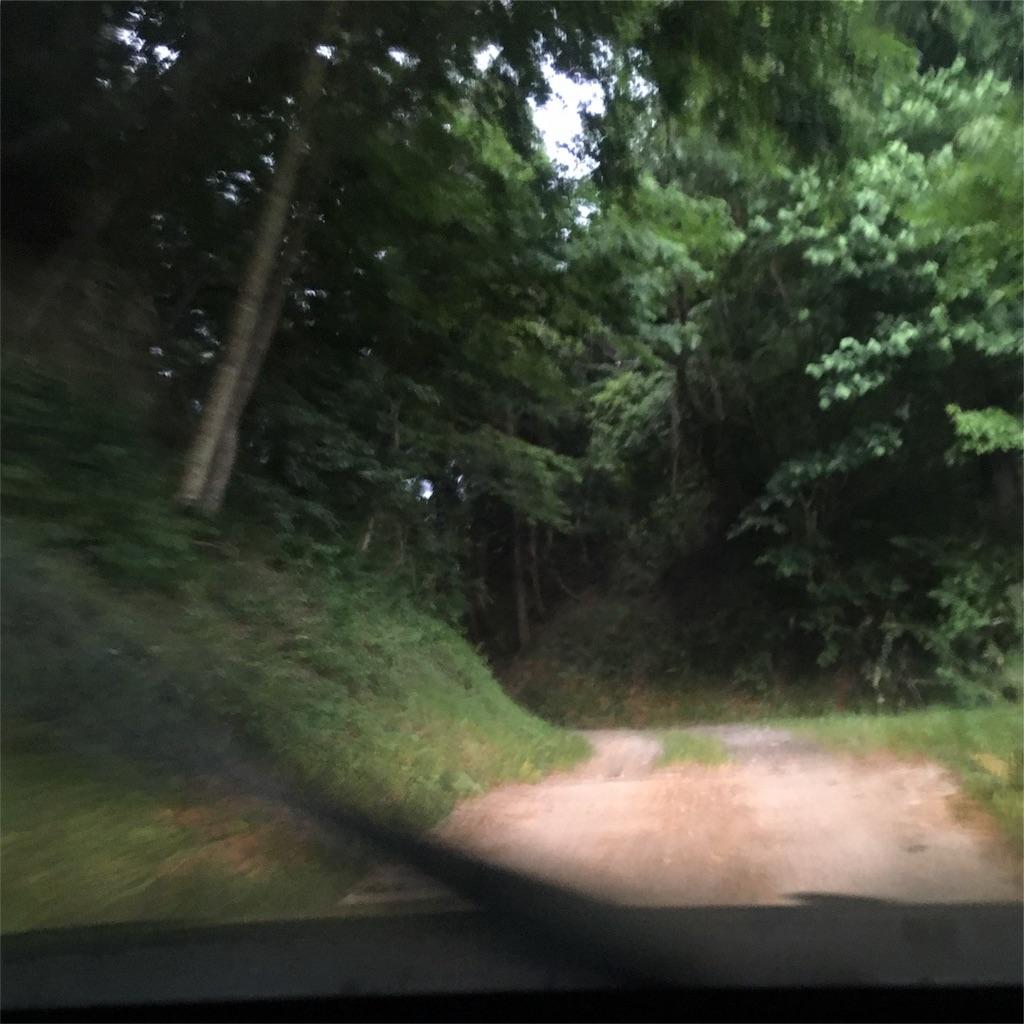 オートキャンプいわしろ高原への道2