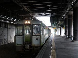 盛岡駅にて