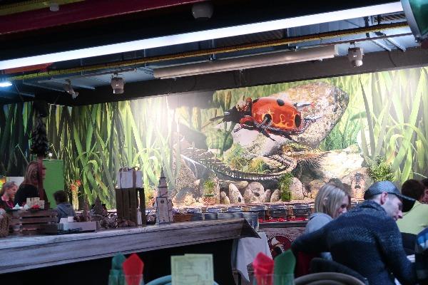 レストラン「LA TABLE D'ARTHUR」