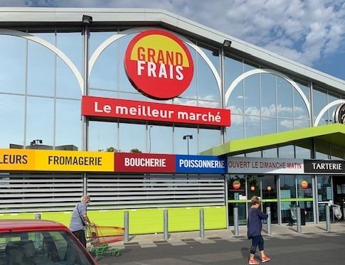 スーパーマーケット「GRAND FRAIS」