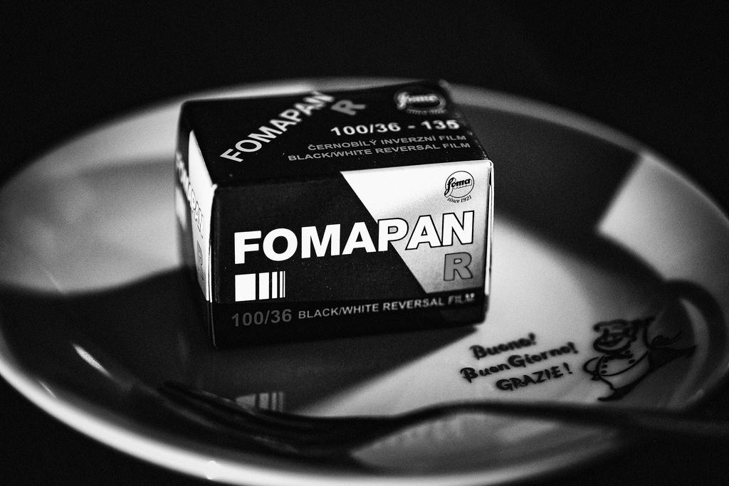 白黒リバーサルフィルムを試す - Out Focus