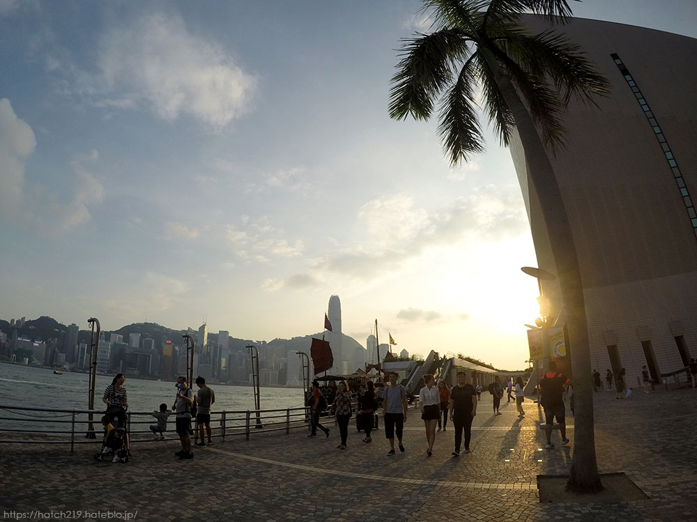 香港のプロムナード
