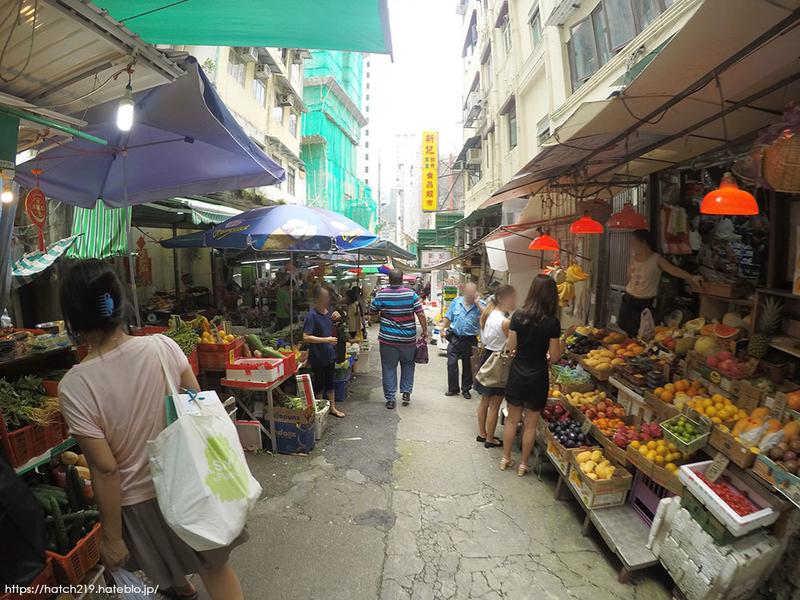 香港の商店