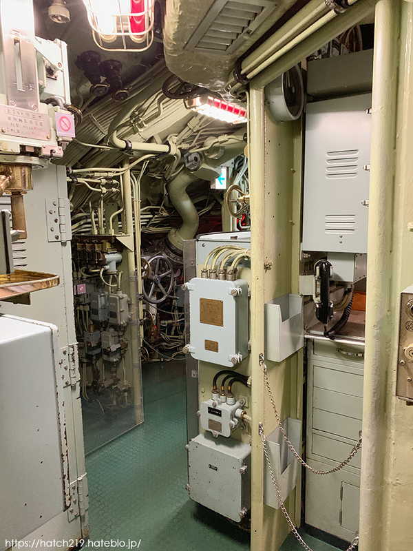 潜水艦の内部