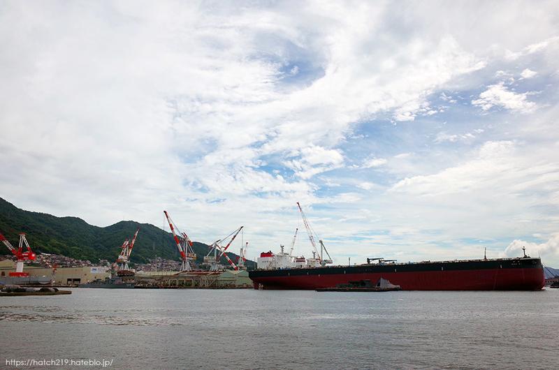 呉の造船の風景