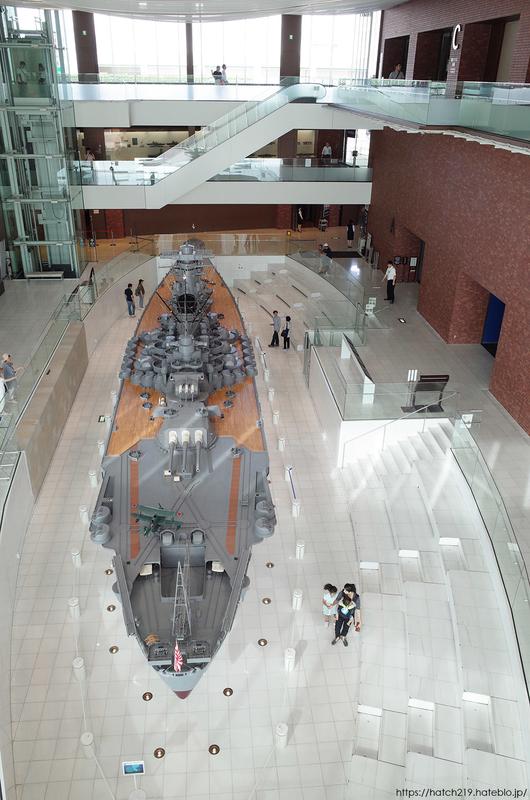 大和ミュージアムの戦艦大和