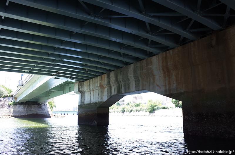 元安川の橋