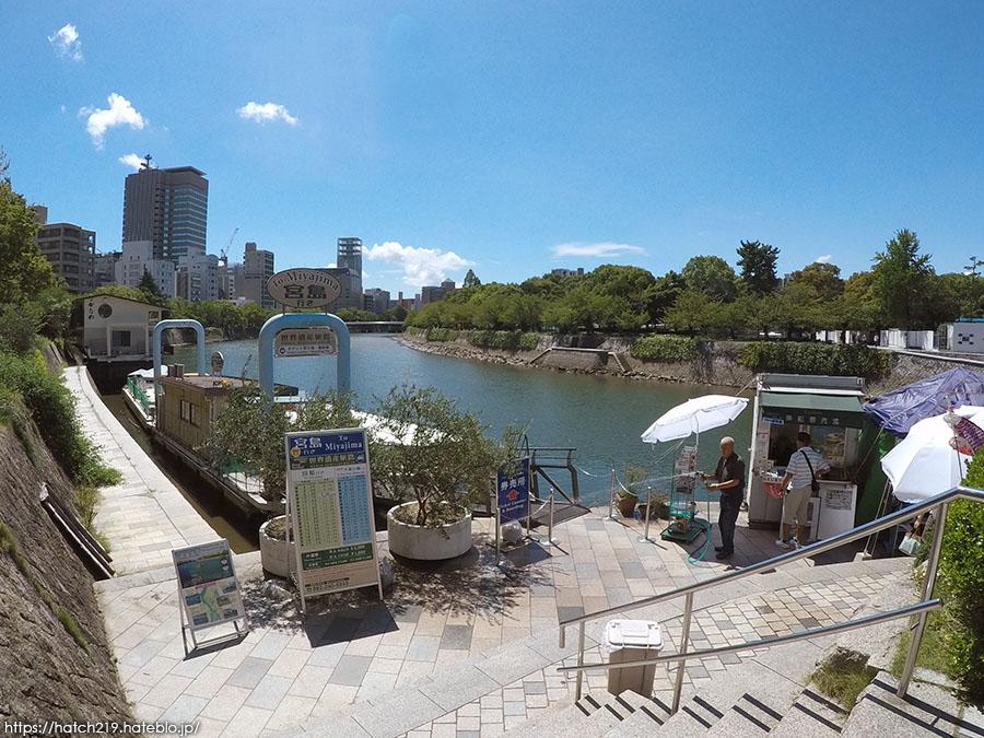 広島市内のフェリー乗り場