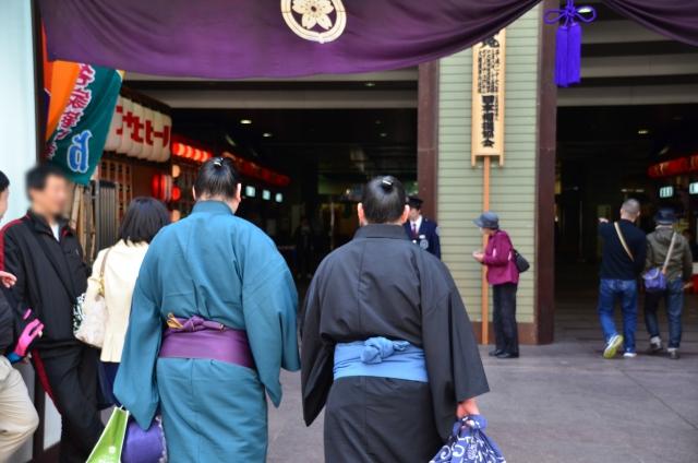 相撲大阪場所のイメージ